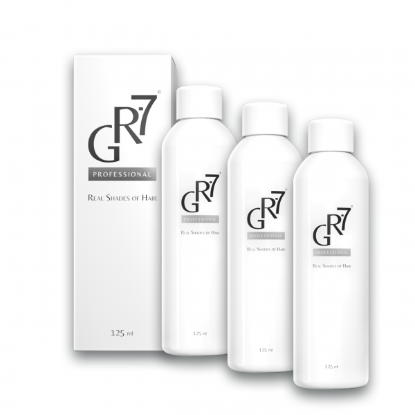 3 bottles of GR-7 anti grey hair
