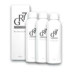 3 GR-7 bottles